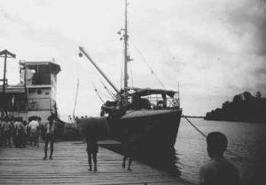 KM Taliwang tahun 1952, Pelabuhan Merak