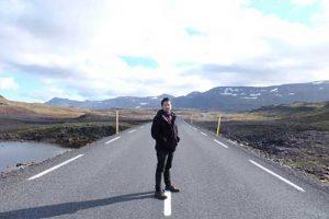 Beginllah jalan raya menuju Siglufjörður .